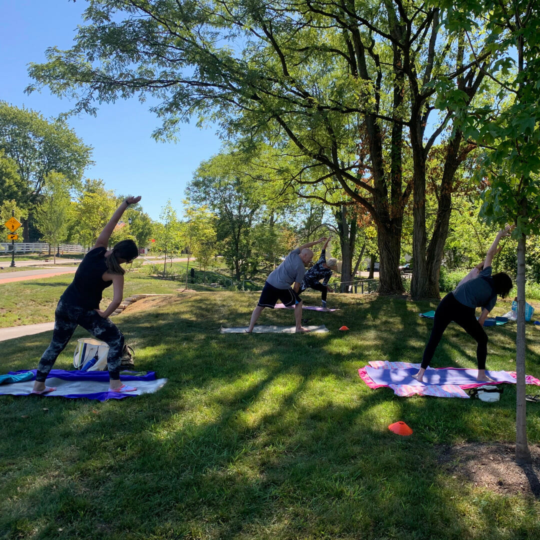 Adult Yoga in the Park